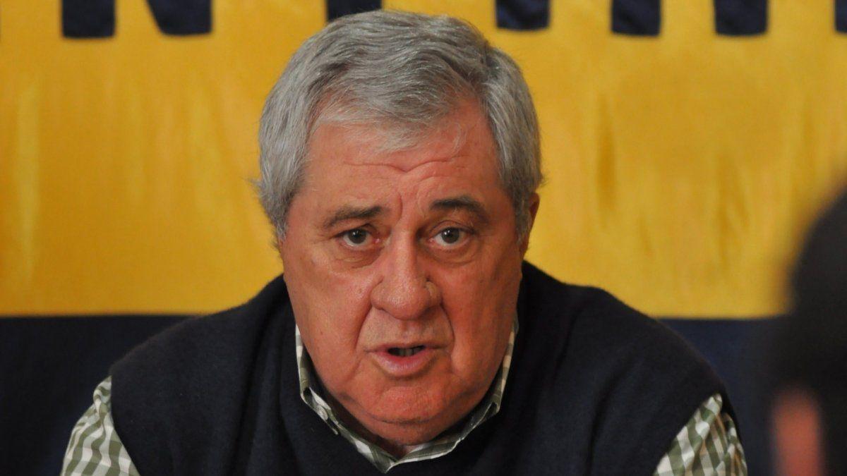 Amor Ameal es el Presidente de Boca.