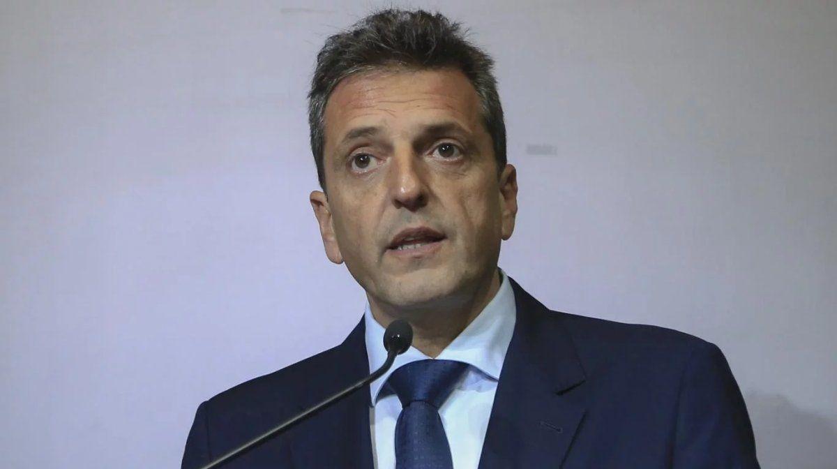 Massa aseguró que mañana se sancionará la Solidaridad Social
