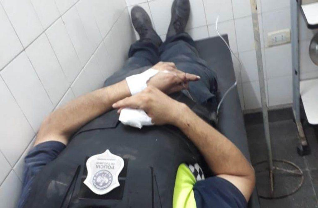 Dos hombres atacaron y dispararon a un policía: matalo al milico