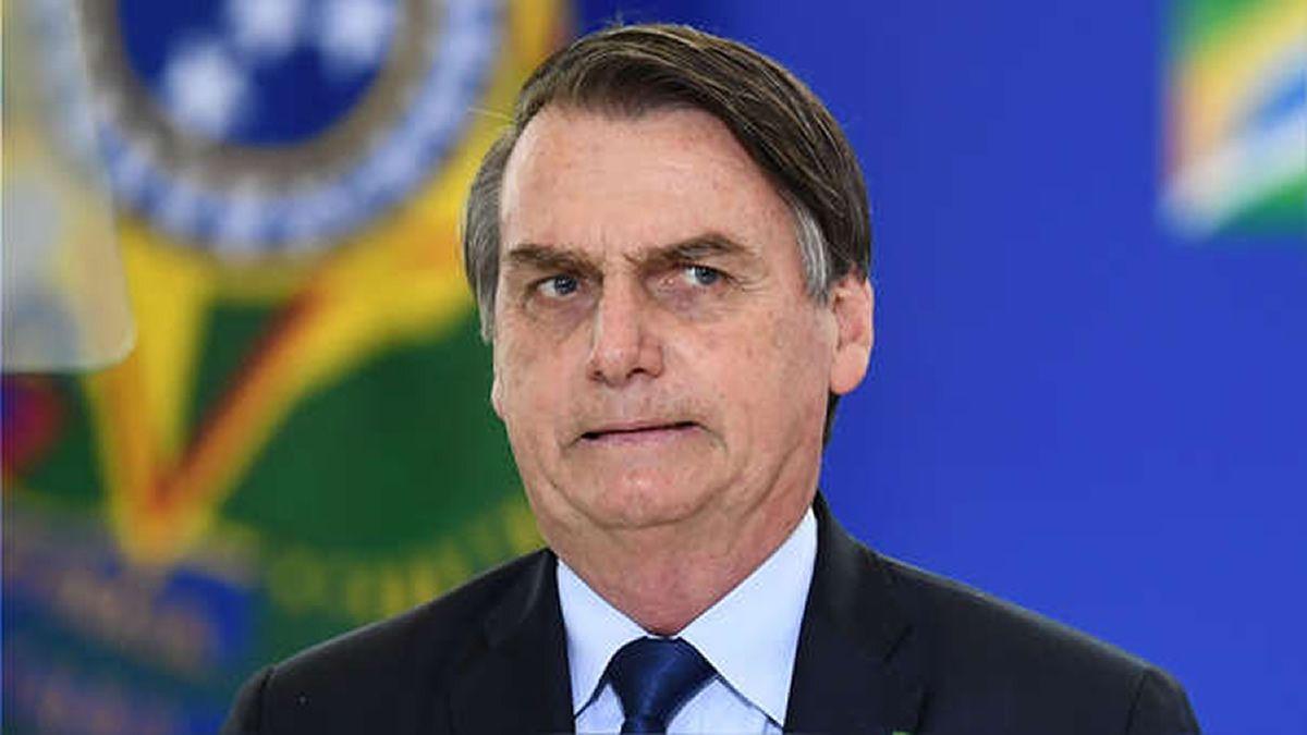Bolsonaro sufrió un accidente doméstico en el palacio presidencial