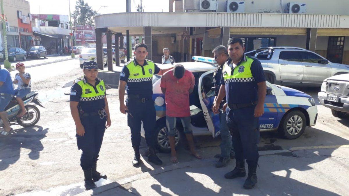 Operativo exitoso: recuperaron el vehículo y atraparon al ladrón