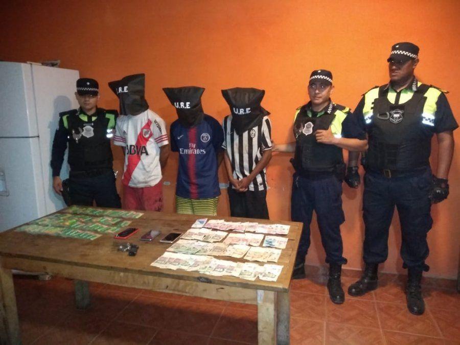 Detuvieron a ocho delincuentes en dos persecusiones