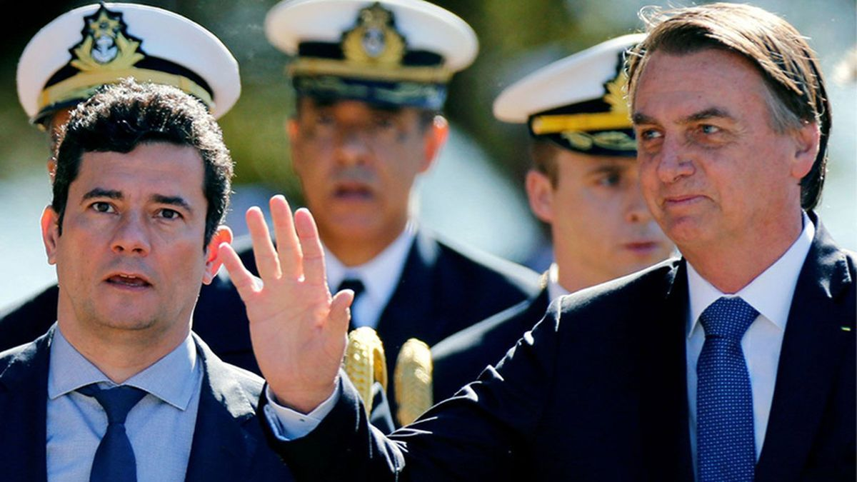 Bolsonaro desautorizó a Moro con la ley anticrimen