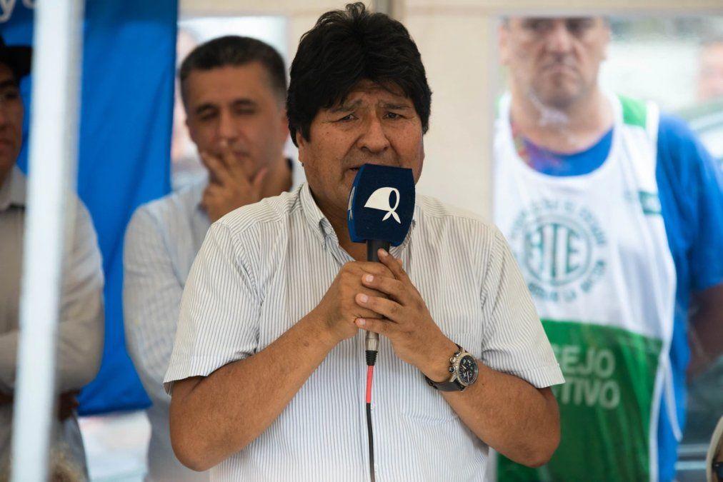 Evo Morales se reunirá con dirigente del MAS en Buenos Aires