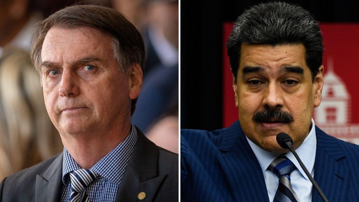 Maduro habló de Brasil como santuario de terroristas