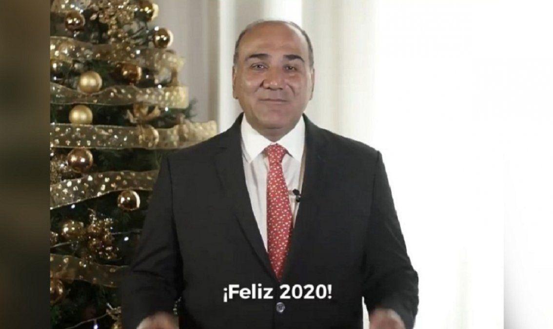 El optimismo de Juan Manzur en sus deseos para el 2020