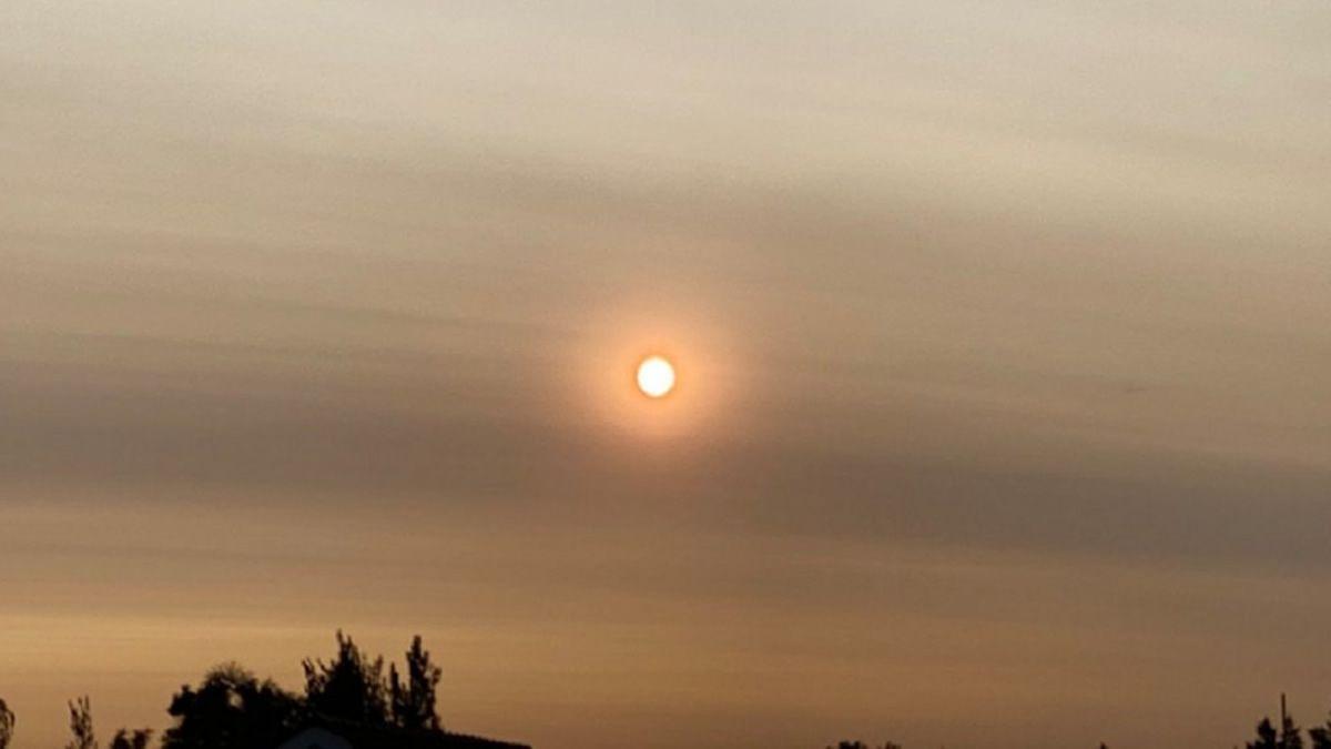 El humo de los incendios forestales en Australia llegó a Argentina