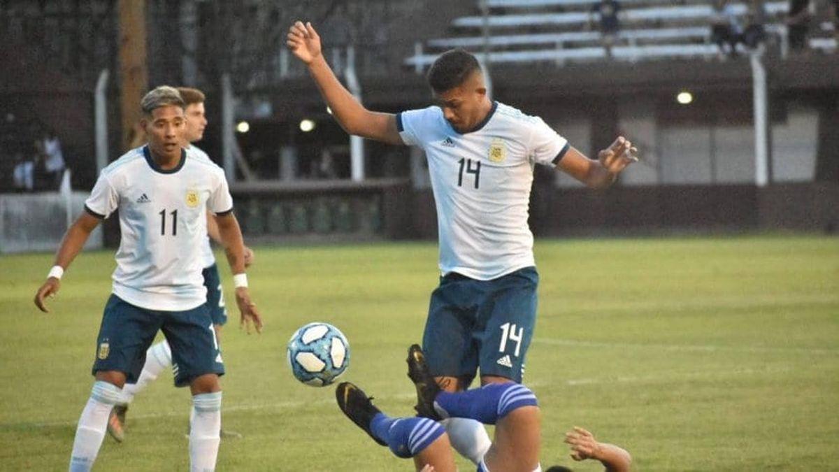 La Sub 23 empató ante Paraguay en la previa del Preolímpico