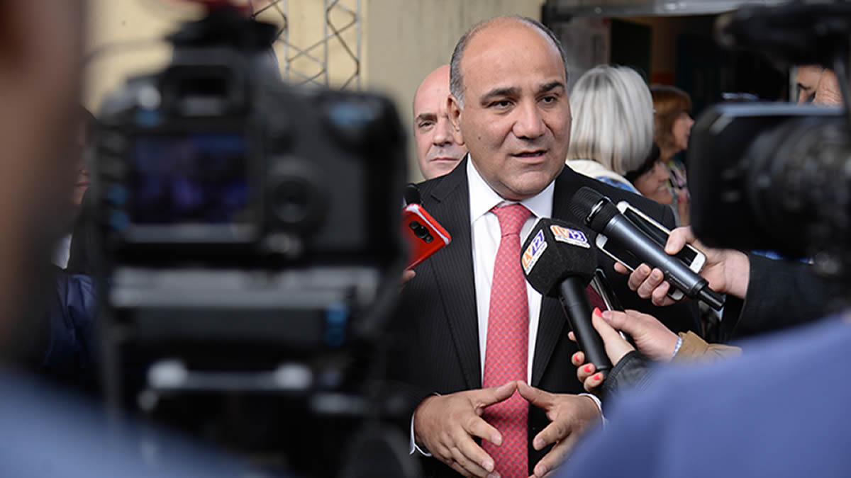 Juan Manzur: Seguiremos trabajando en base al diálogo y al consenso