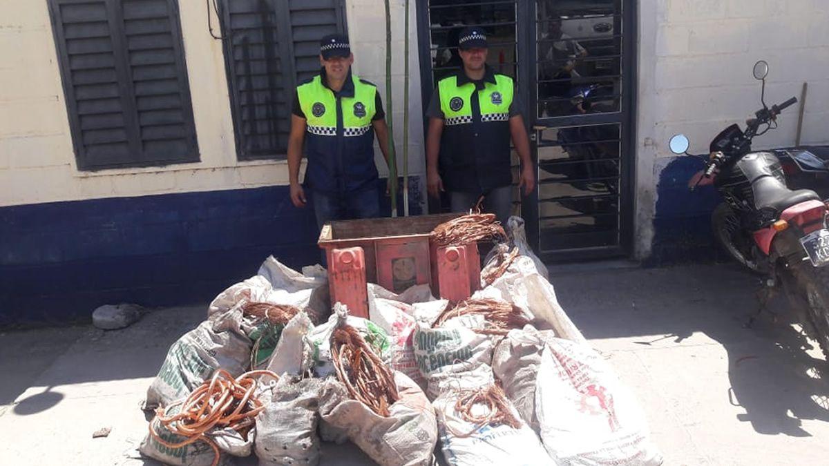 Secuestran más de 700 kilos de cobre robados a EDET