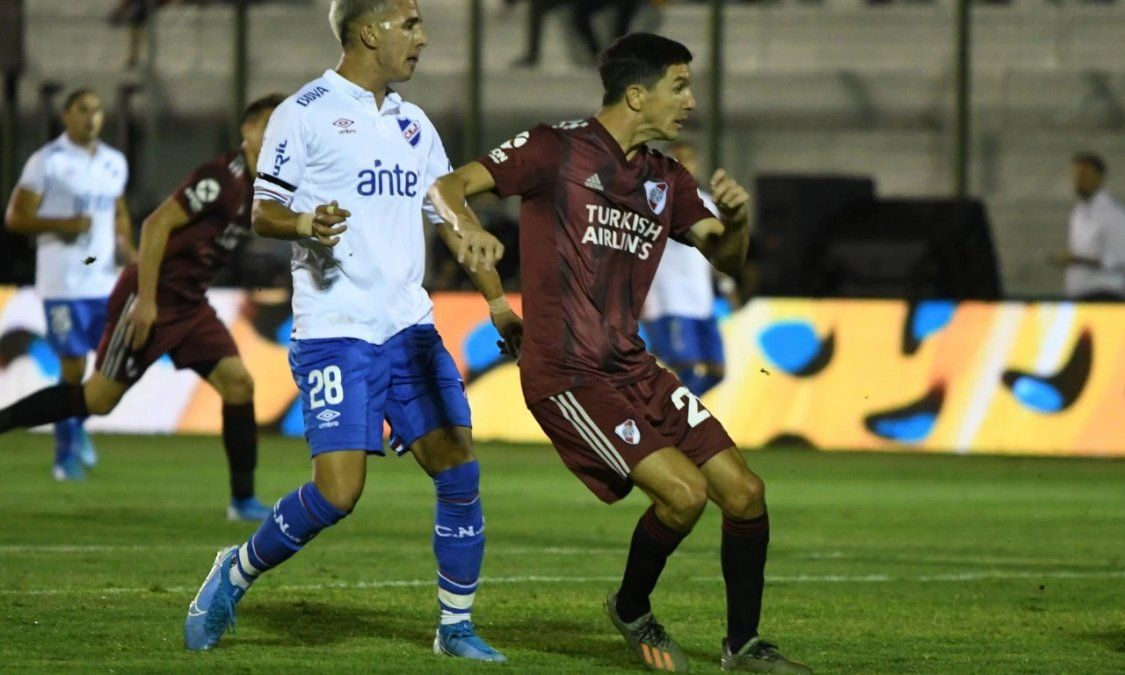 River empató 4 a 4 con Nacional y luego perdió por penales