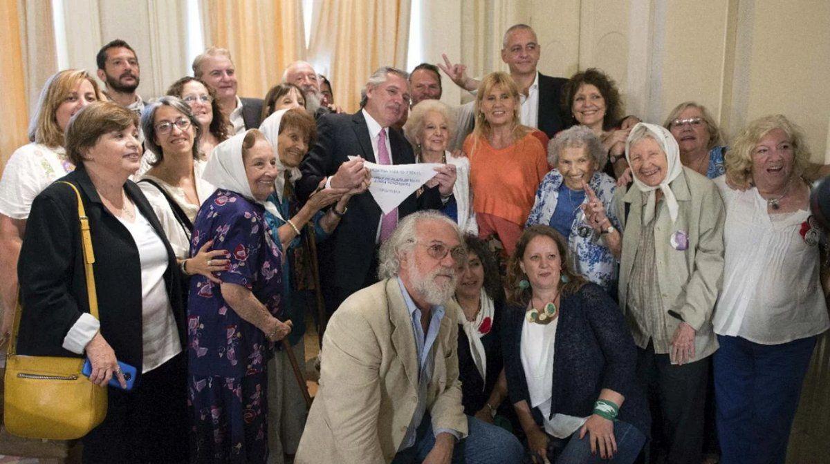 Alberto Fernández quiere cuidar a los organismos de derechos humanos