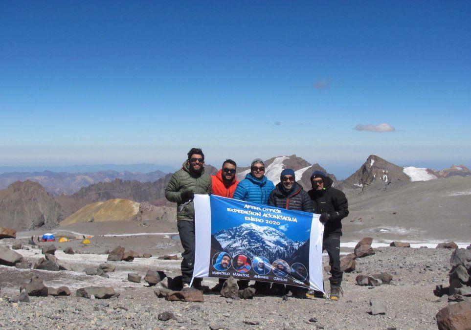 Tucumanos llegaron a la cumbre del Aconcagua: es algo que nos apasiona
