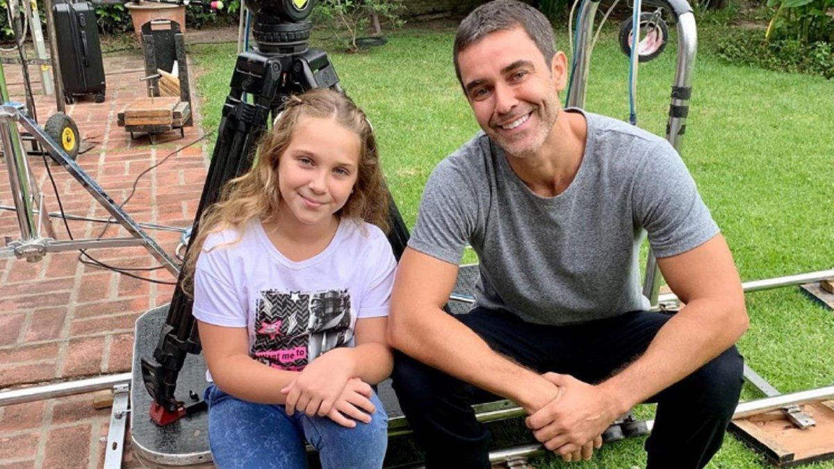 Olivia, la hija de Mariano Martínez, debuta como actriz