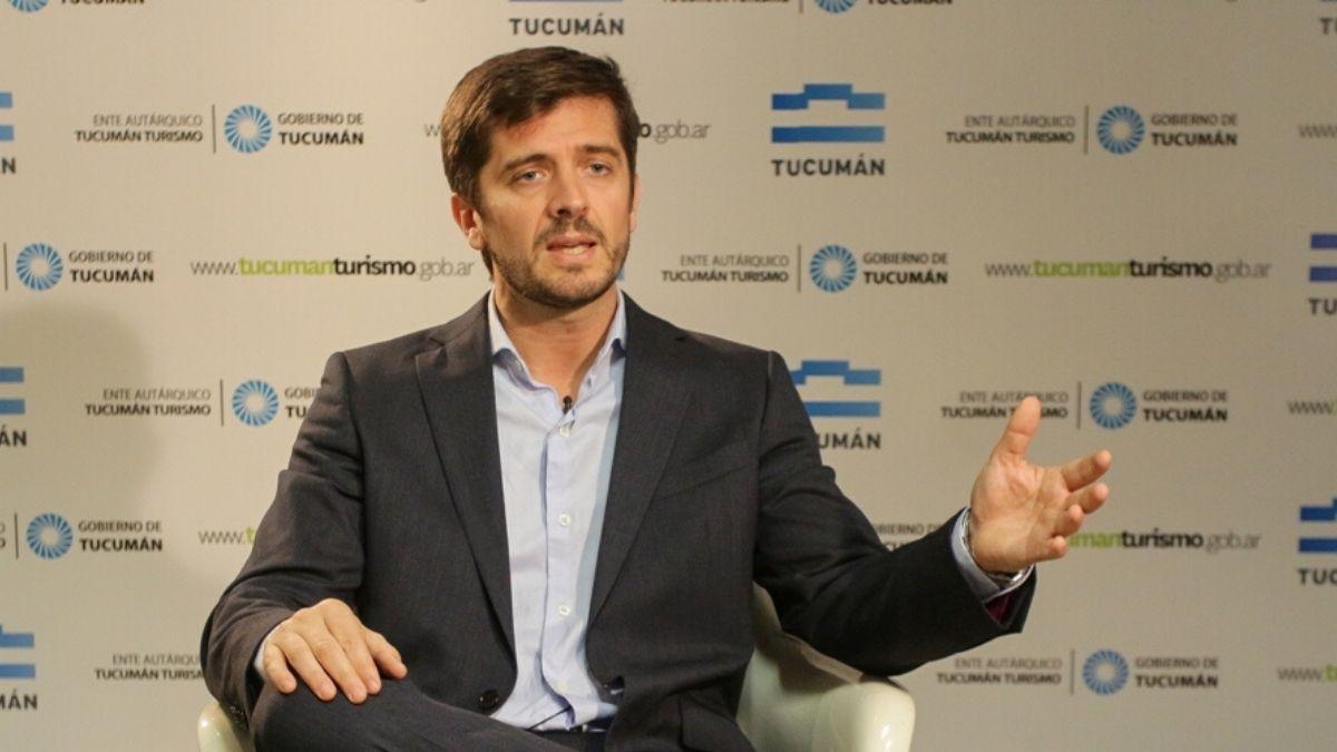 Sebastian Giobellina visitó por primera vez al ministro de Turismo y Deportes de la Nación