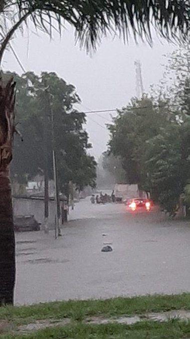 Famaillá: hubo 25 evacuados por el temporal