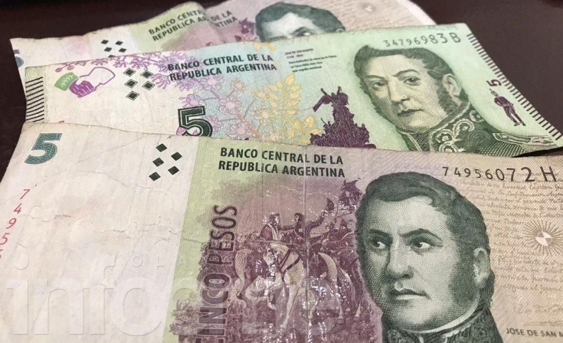 Piden suspender la salida de circulación del billete de $5