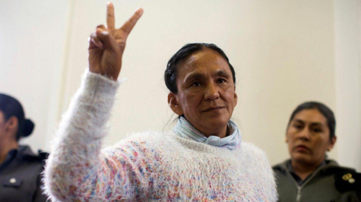 Milagro Sala aseguró que se siente una presa política
