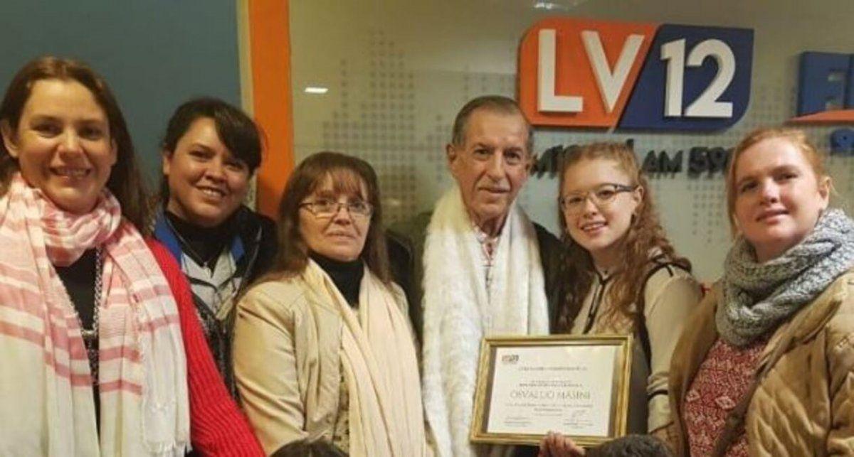La radio de luto: falleció el locutor Osvaldo Masini