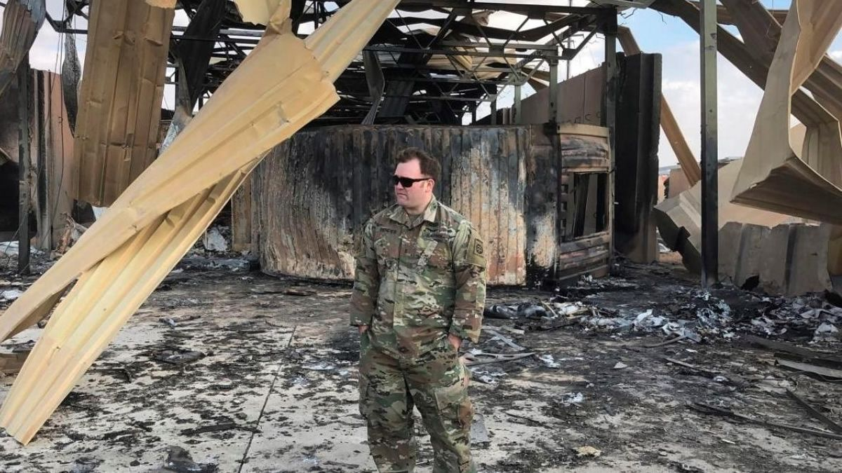 Al menos 11 soldados estadounidenses heridos tras el ataque iraní