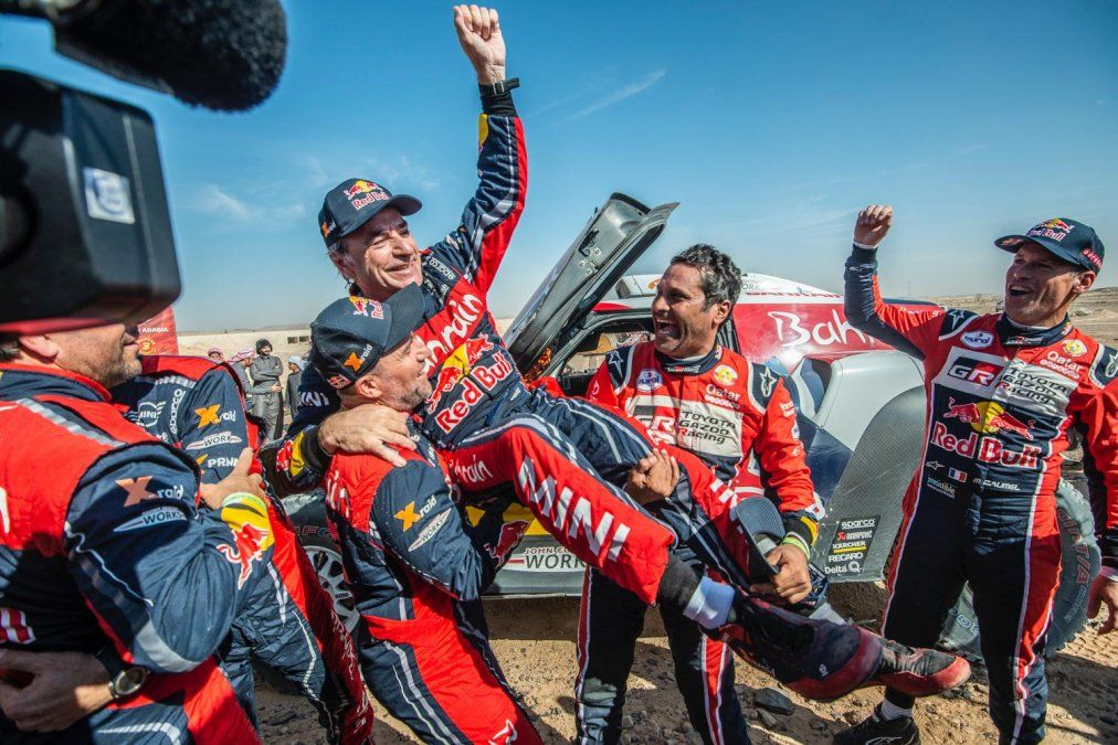 Rally Dakar: Carlos Sainz ganó la competencia por tercera vez
