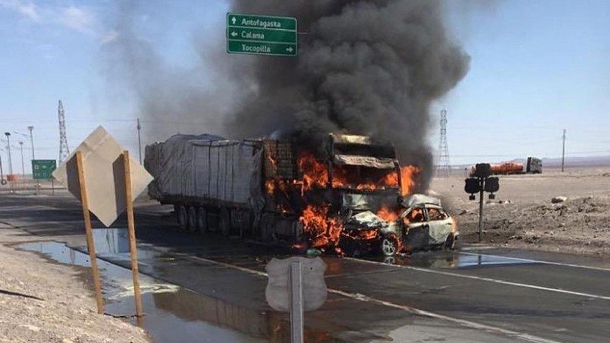 Tragedia en Chile: La evidencia más clara es el camión en el otro carril
