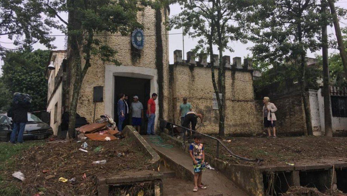 Comisaría de Marti Coll: tras la inundación, se construirá una nueva sede