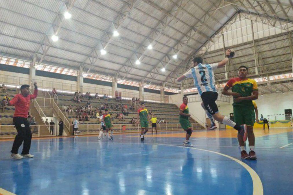 Premundial de handball: Argentina goleó a Bolivia en el debut