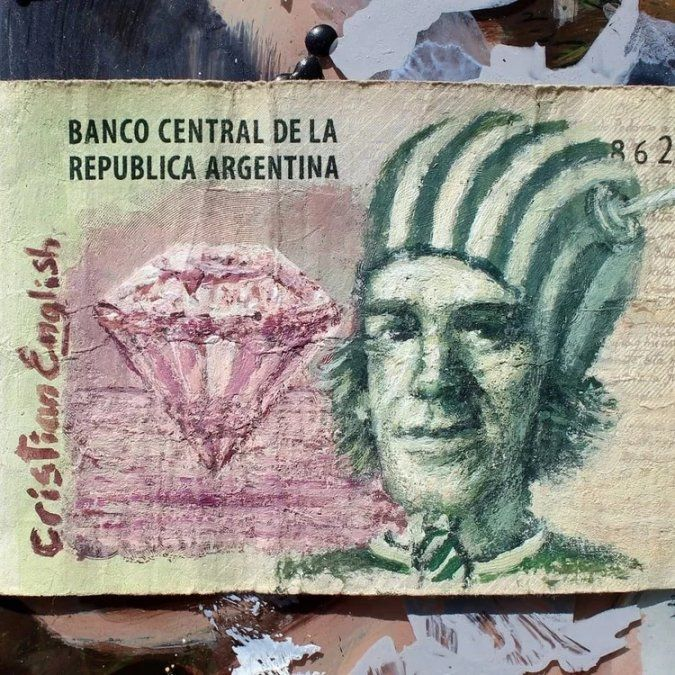 #DameEsos5: intervienen billetes para subastarlos
