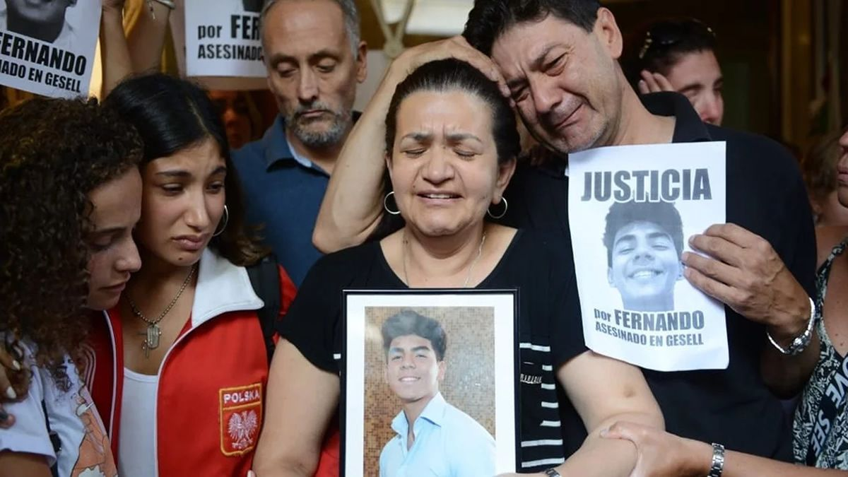 Conmovedor mensaje de la mamá de Fernando y pedido de justicia