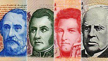 Tiene fecha la vuelta de las personalidades a los billetes