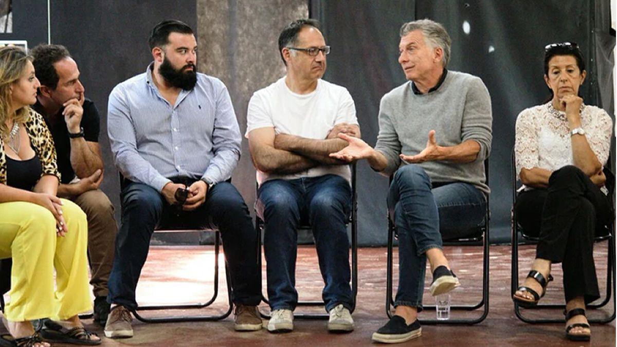 Mauricio Macri reapareció para una charla en Villa La Angostura