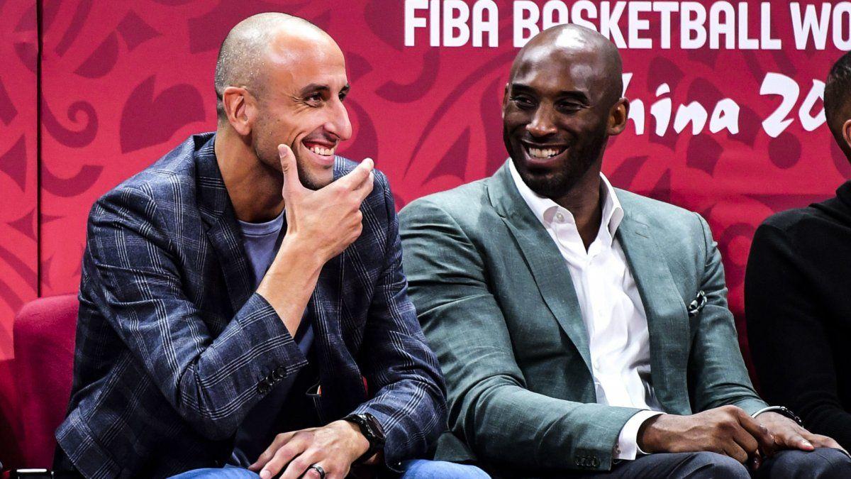La reacción de Manu Ginóbili tras la muerte de Kobe Bryant