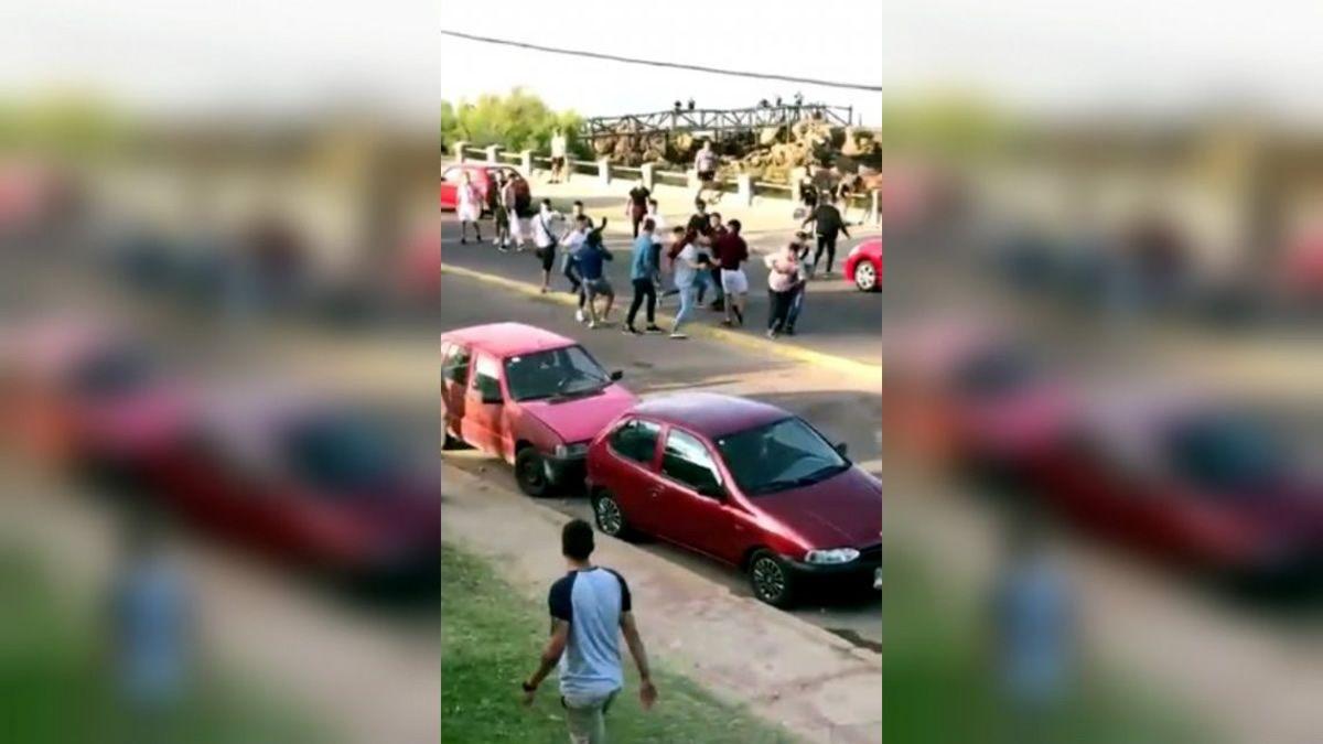 Batalla campal a la salida de un boliche en Piriápolis