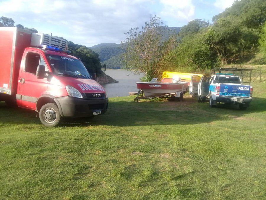 Falleció un joven en el dique El Cadillal