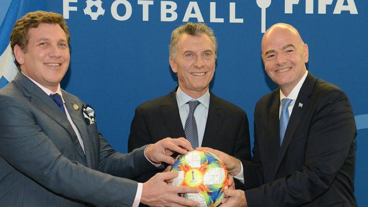 Nombran a Macri como presidente ejecutivo de la Fundación FIFA