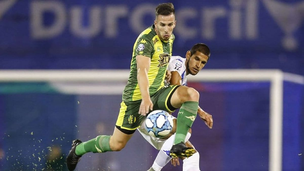 Vélez y Aldosivi quedaron a mano en el inicio de la fecha 18