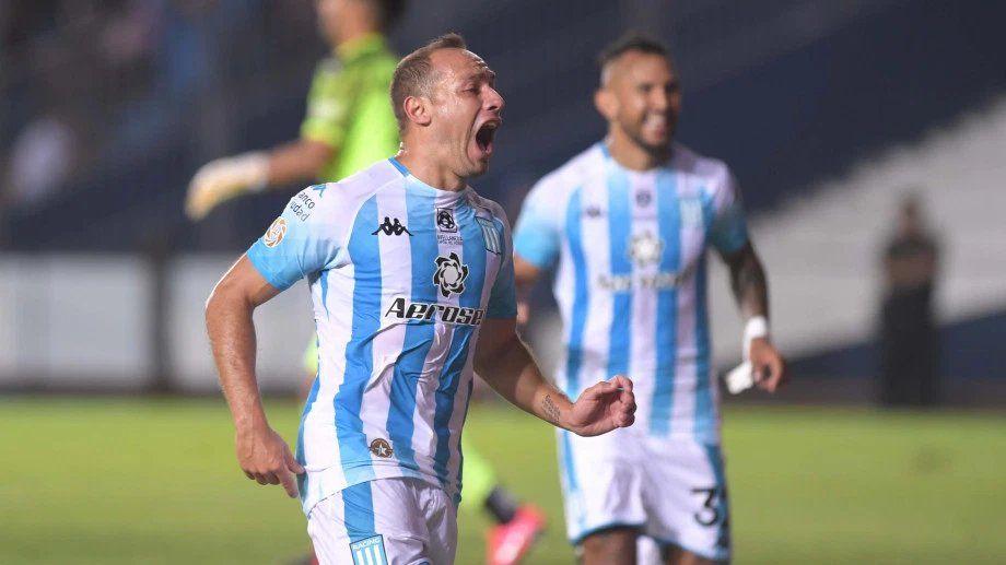 Racing le ganó un clásico histórico a Independiente