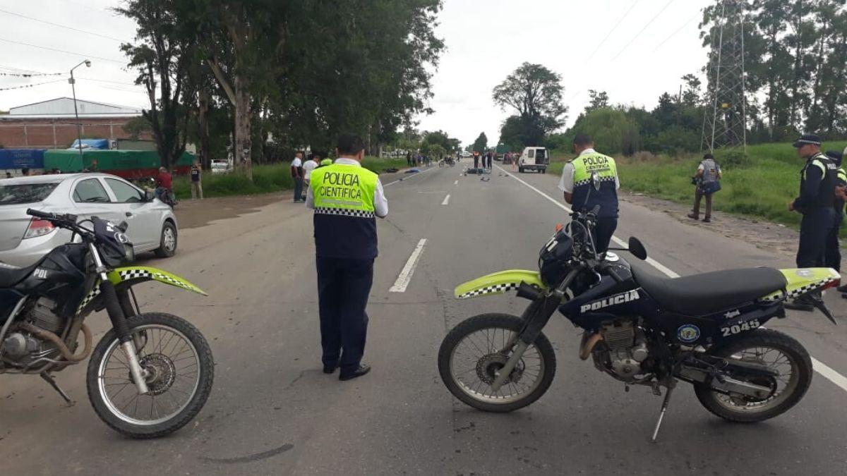 Choque de motos en la ruta 38: fallecieron dos personas