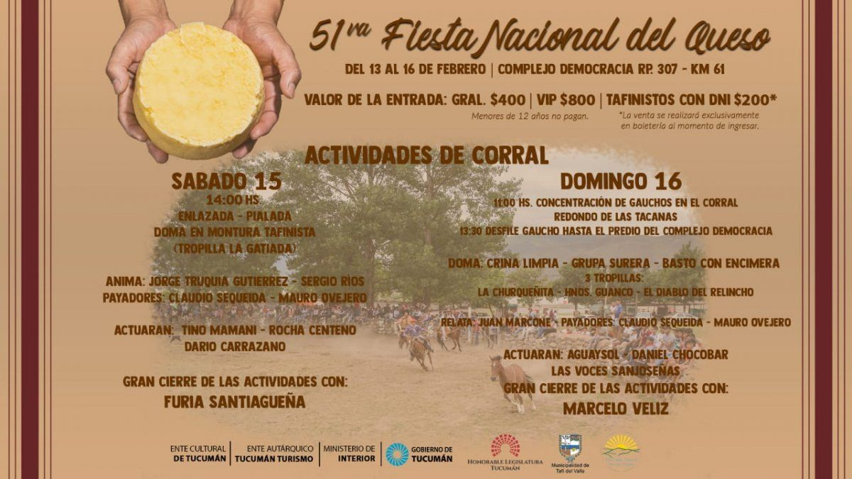 El 51° Festival Nacional del Queso será transmisión de LV12