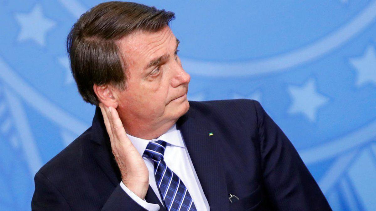 Bolsonaro recibió ayer en el Palacio del Planalto a Solá y al embajador argentino ante Brasilia