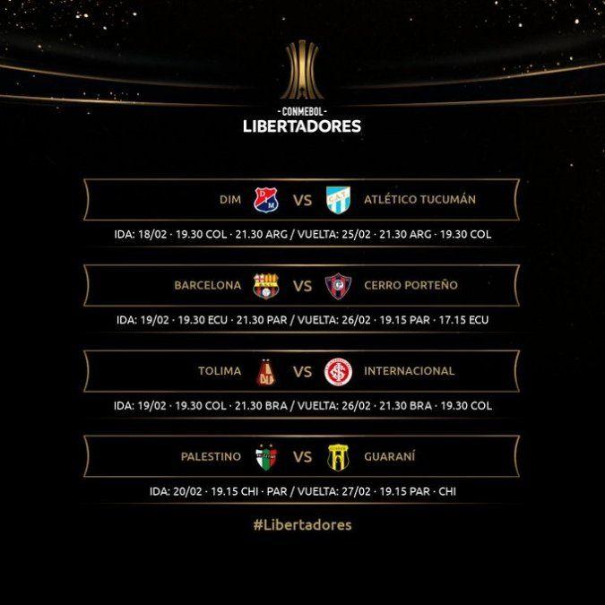 Atlético ya conoce horas y fechas para enfrentar al DIM