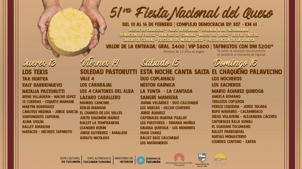 El Festival Nacional del Queso se vive en LV12