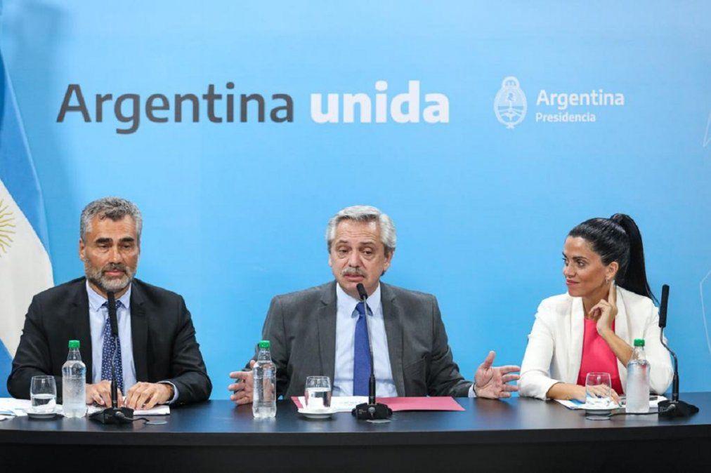 Alberto Fernández negó un ajuste a los jubilados