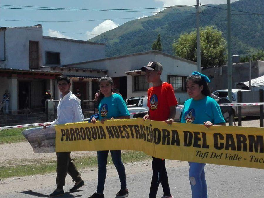 Festival del Queso: se realizó el desfile de carrozas