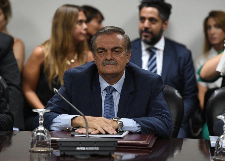 Lugones fue elegido la semana pasada por su pares para encabezar el órgano constitucional.
