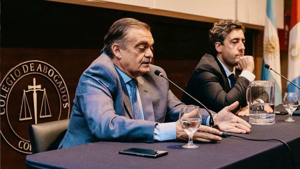 Alberto Lugones: Hay cosas que no están funcionando bien en la Justicia