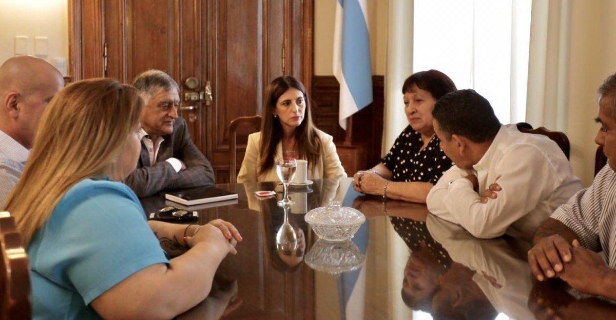 Carolina Vrgas Aignasse continuará esta semana con la ronda de diálogo con distintos sectores gremiales de la provincia.
