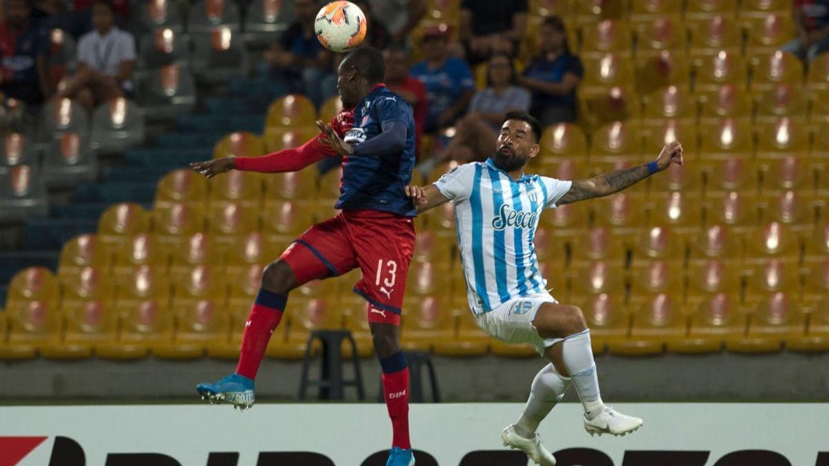 Atlético cayó por 1 a 0 ante el DIM en Colombia, en el encuentro de Ida