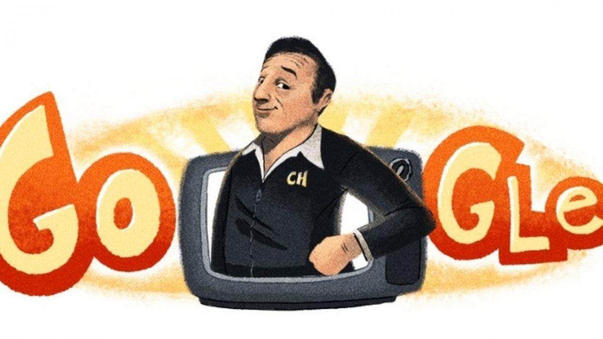 El homenaje de Google a Chespirito por el aniversario de su cumpleaños